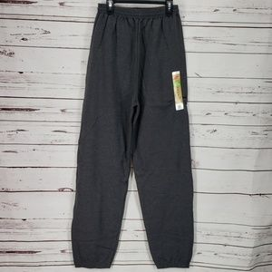 Hanes Men's Cinch Leg Grey Small Sweatpants